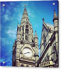 #manchester #buildings #classic Acrylic Print