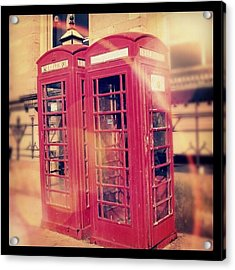 #manchester #london #uk #england Acrylic Print