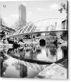 #manchestercanal #manchester #city Acrylic Print