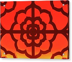 Mandala Acrylic Print by James Mancini Heath