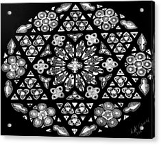 Mandala Of Hope Phase 1 Acrylic Print