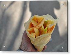 Mango Mix Acrylic Print by Nimmi Solomon