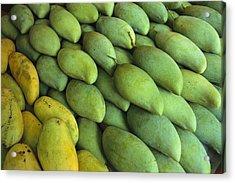 Mangoes Sold At A Market Acrylic Print