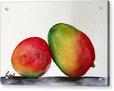 Mangos Acrylic Print by Prashant Shah