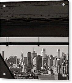 Manhattan - New York Acrylic Print