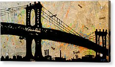 Manhattan Bound  Acrylic Print
