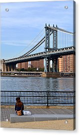 Manhattan Bridge2 Acrylic Print