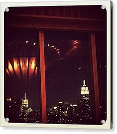 Manhattan Reflection Acrylic Print