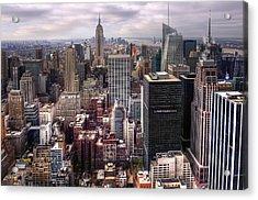 Manhattan02 Acrylic Print by Svetlana Sewell