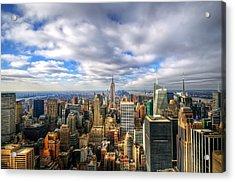 Manhattan05 Acrylic Print by Svetlana Sewell
