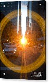 Manhattanhenge New York Acrylic Print