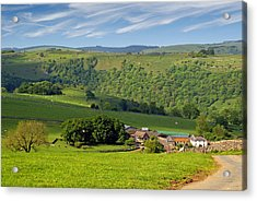 Acrylic Print featuring the photograph Manifold Valley - Staffordshire by Rod Jones