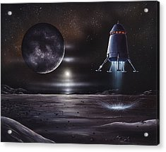 Manned Mission To Charon, Artwork Acrylic Print