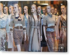 Mannequins I Acrylic Print by Clarence Holmes