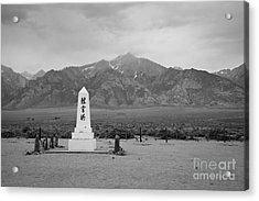 Manzanar Memorial Acrylic Print