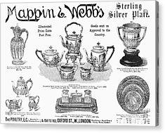 Mappin & Webbs, 1892 Acrylic Print by Granger