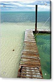 Marathon Dock Florida Keys Acrylic Print