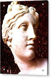 Marble Sculpture Acrylic Print by Paul Washington