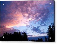 Marble Sky Acrylic Print by Kevin Bone