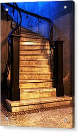 Marble Stairs Acrylic Print by Michelle Joseph-Long