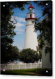 Marblehead Lighthouse Afternoon Acrylic Print by John Traveler