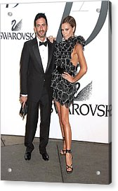 Marc Jacobs, Victoria Beckham Wearing Acrylic Print by Everett