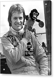 Marc Surer Acrylic Print by Mike Flynn