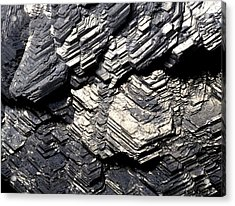 Marcasite Mineral Acrylic Print by Dirk Wiersma