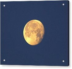 Acrylic Print featuring the photograph March Moon by Jeanne Andrews