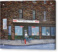 Marche Quenneville Pointe St. Charles Acrylic Print by Reb Frost