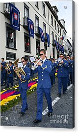 Marching Band Acrylic Print by Gaspar Avila