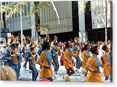 Acrylic Print featuring the photograph Marching To A Different Drumer by Tanya Tanski