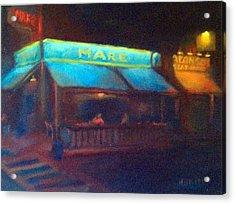 Mare Acrylic Print by Rosemarie Hakim