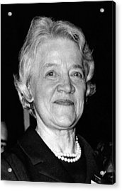 Margaret Chase Smith, 1897-1997 Acrylic Print by Everett