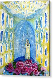 Maria Rosa Mistica Acrylic Print