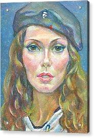 Maria Svyatskaya Acrylic Print by Leonid Petrushin