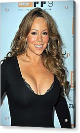 Mariah Carey At Arrivals For New York Acrylic Print by Everett