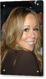 Mariah Carey At Talk Show Appearance Acrylic Print by Everett