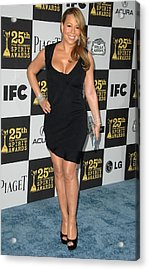 Mariah Carey In Attendance For 25th Acrylic Print by Everett