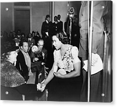 Marian Anderson 1897-1993, Shaking Acrylic Print by Everett