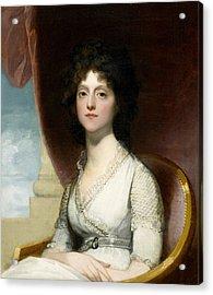 Marianne Ashley Walker Acrylic Print by Gilbert Stuart