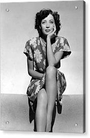 Marie Windsor, 1942 Acrylic Print by Everett