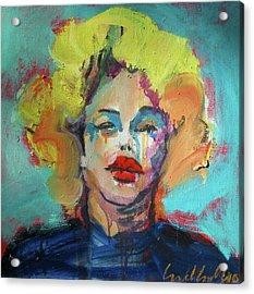 Marilyn 2010 Acrylic Print by Les Leffingwell