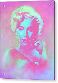 Marilyn By Reb Acrylic Print