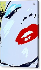 Marilyn Monroe 2 Acrylic Print by Micah May