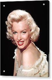 Marilyn Monroe, C. Mid-1950s Acrylic Print by Everett