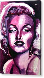 Marilyn Monroe Acrylic Print by Hannah Chusid