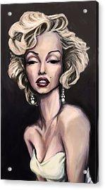 Marilyn Monroe Acrylic Print by Tyler Auman