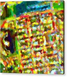 Marina District - San Francisco California Usa - Abstract - Painterly Acrylic Print by Wingsdomain Art and Photography