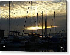 Acrylic Print featuring the photograph Marina by Jerry Cahill